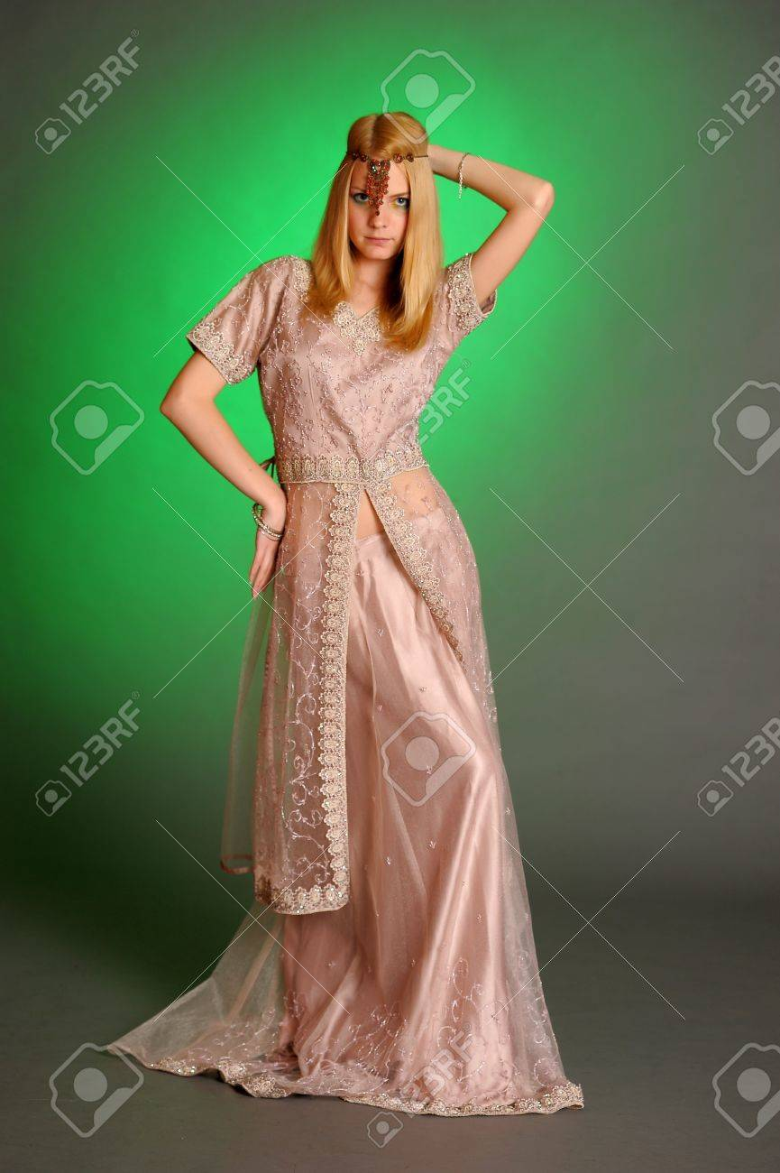 girl in eastern dress Stock Photo - 13929710