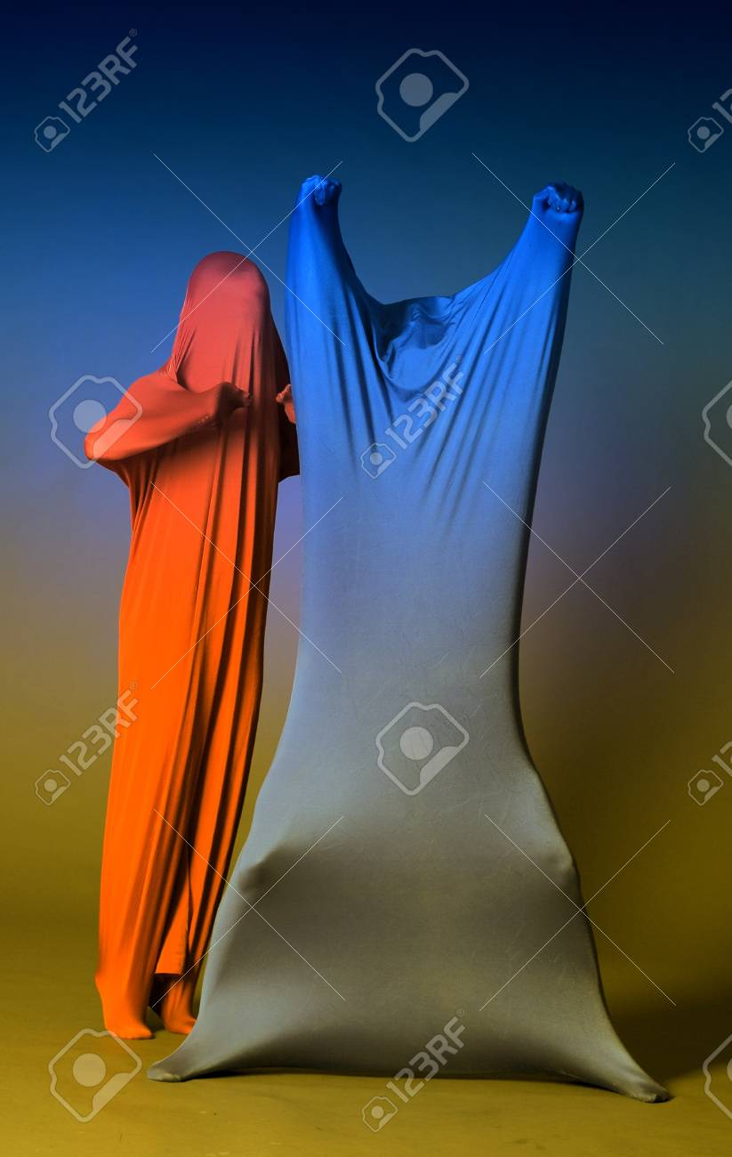 two abstract figures Stock Photo - 14494700