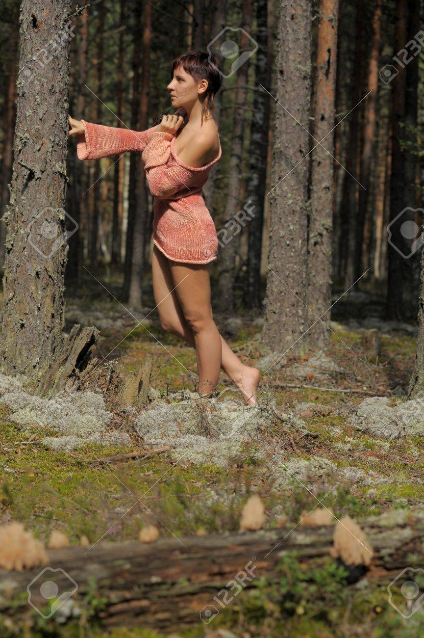 Beautiful girl in the park Stock Photo - 15234215
