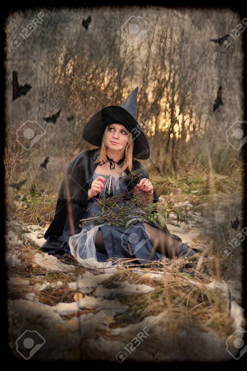 witch Stock Photo - 15144834