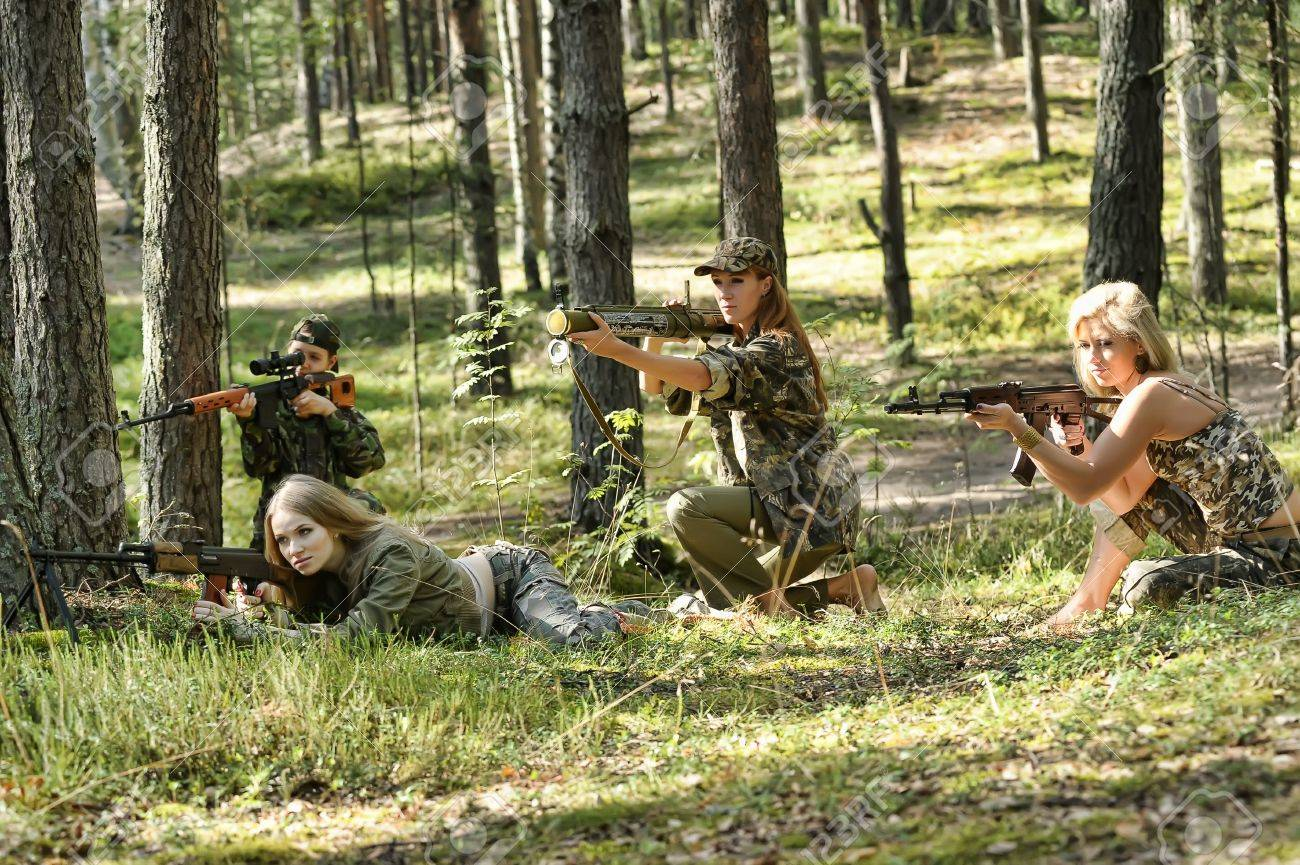 four armed girl Stock Photo - 15975942
