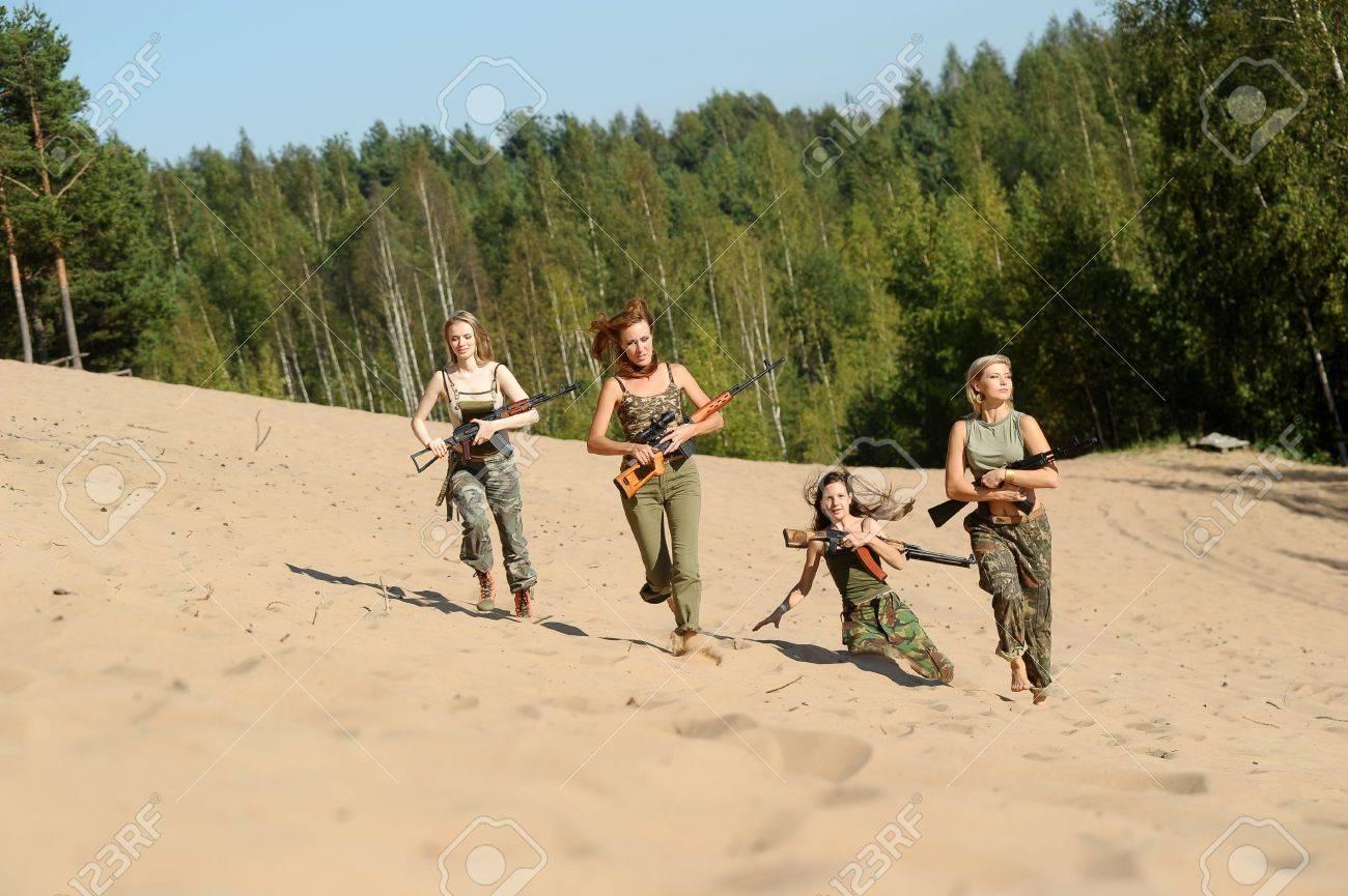 four armed girl Stock Photo - 15975936