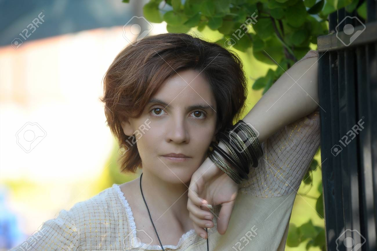 Portrait of a beautiful  woman Stock Photo - 15646566