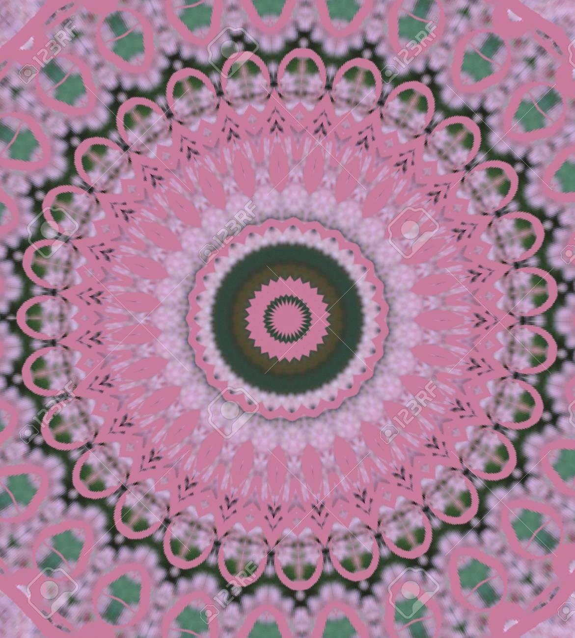 pink circular pattern Stock Photo - 16219700