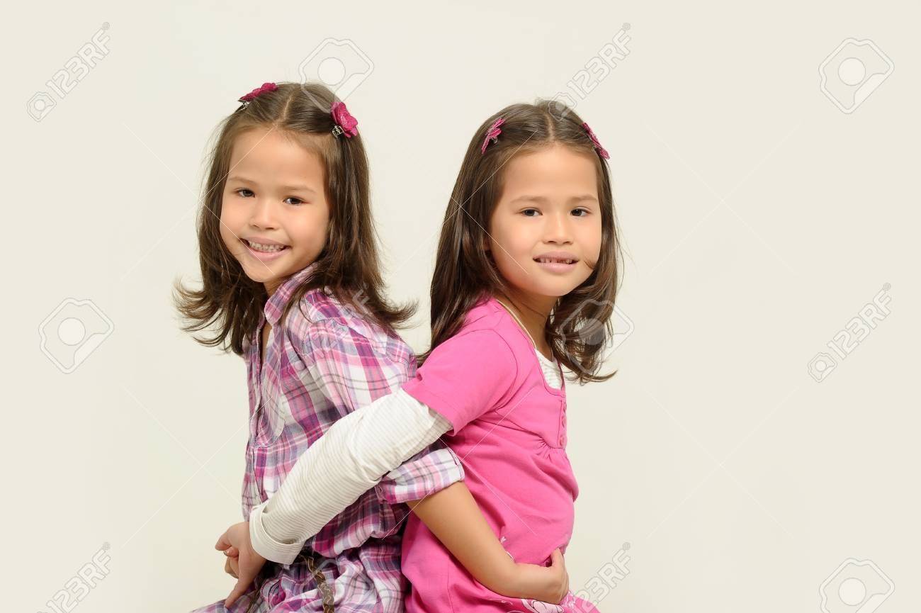 twin sisters Stock Photo - 17458302