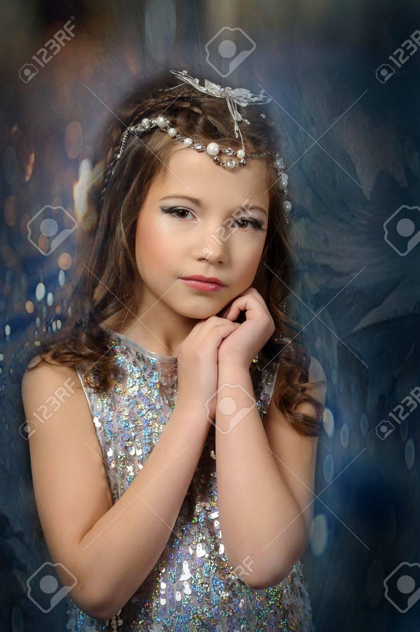 silver girl Stock Photo - 17532635