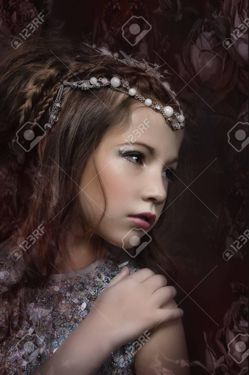 silver girl Stock Photo - 17532572