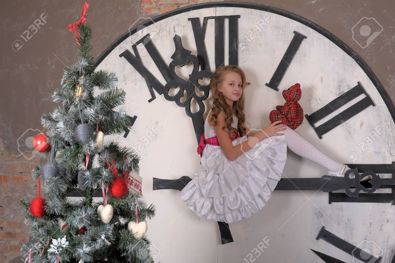 in anticipation of Christmas Stock Photo - 17899287