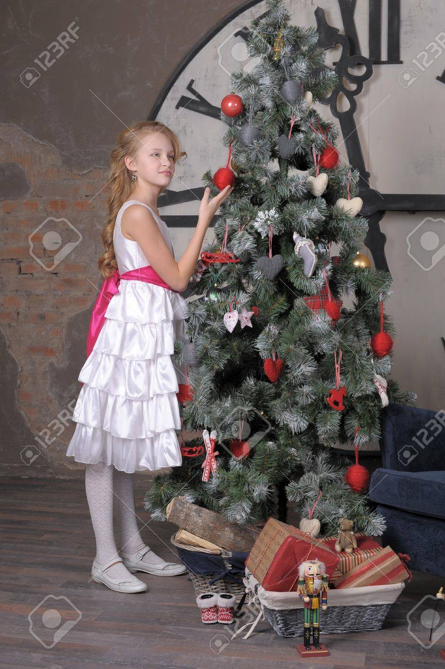in anticipation of Christmas Stock Photo - 17899296