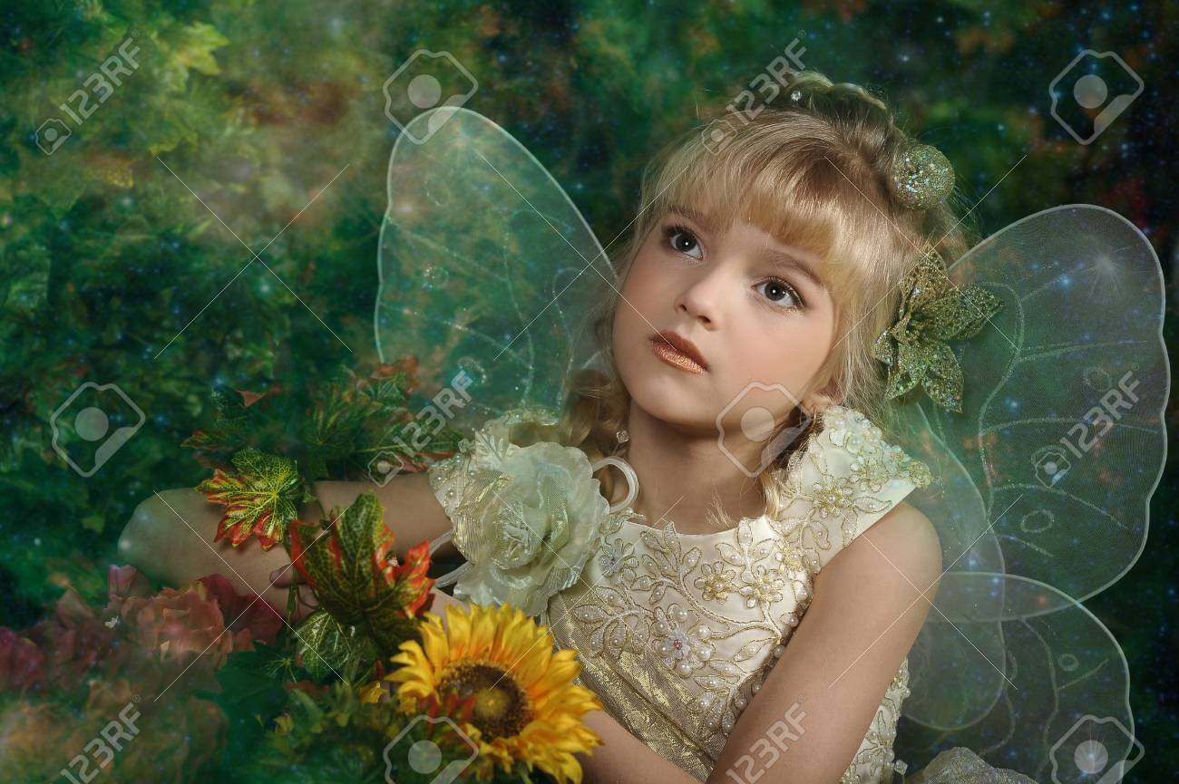 young fairy Stock Photo - 18855343