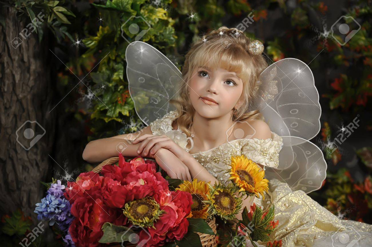 young fairy Stock Photo - 19142864