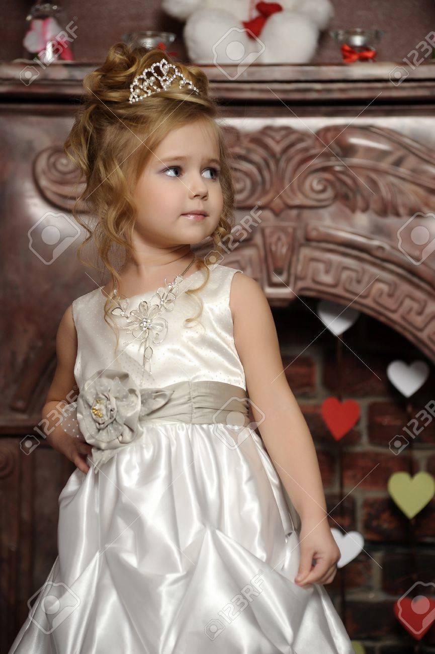 White Dress Tiara