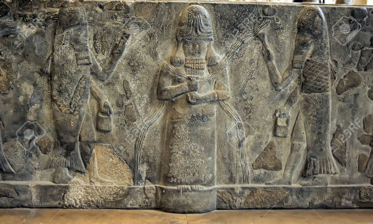 mesopotamian art stock photo picture and royalty free image image