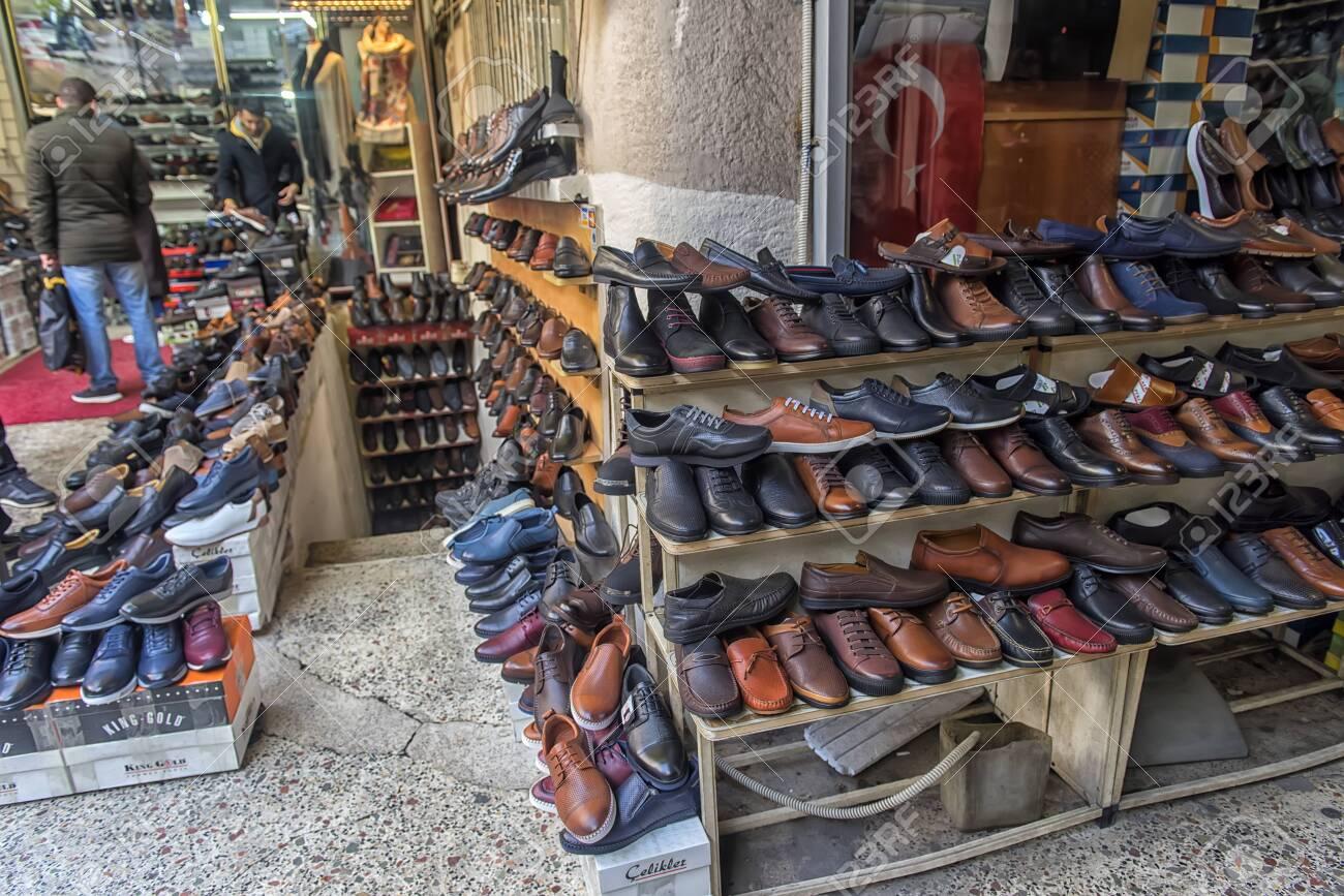 Turkey, Istanbul 23,08,2018 Men's Shoes