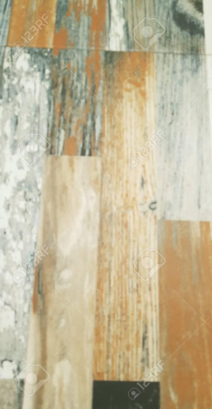 Multicolored Wooden Floor Tiles Background