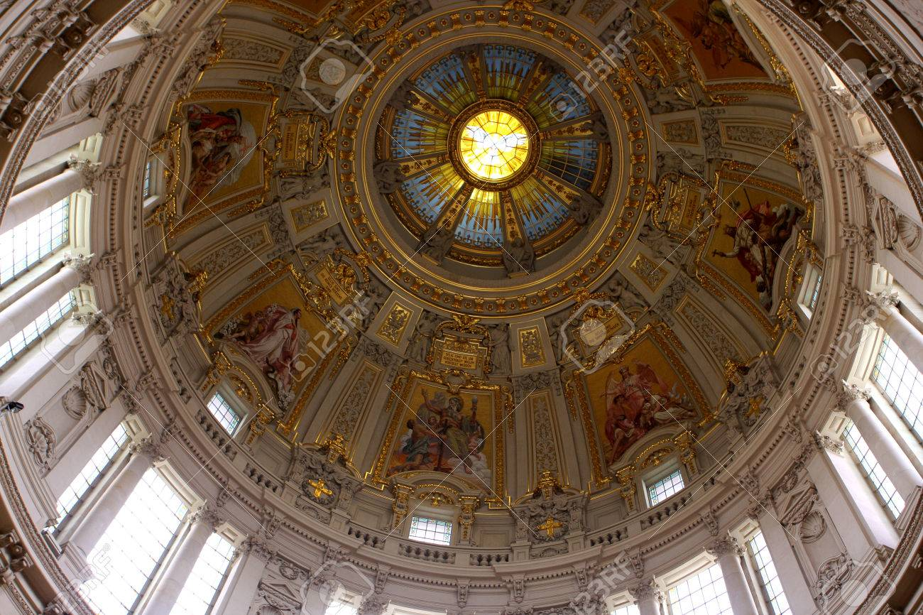 Interior Of Berlin Cathedral Berliner Dom On Museum Island Germany Stock Photo Picture And Royalty Free Image Image 41297064