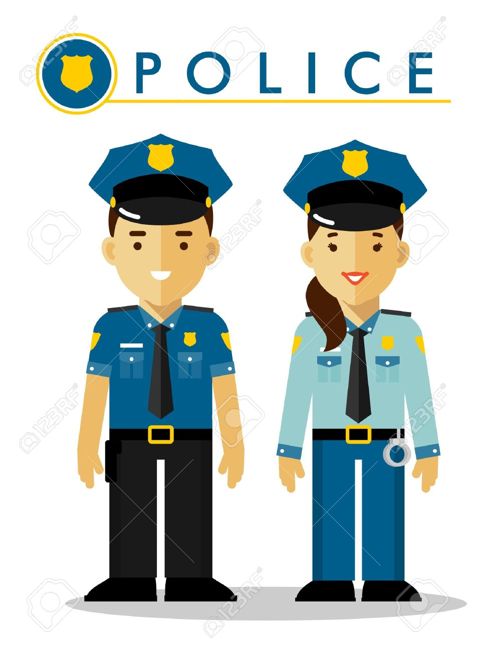 74 678 police officer stock illustrations cliparts and royalty free rh 123rf com police officer clip art step by step police officer clip art image