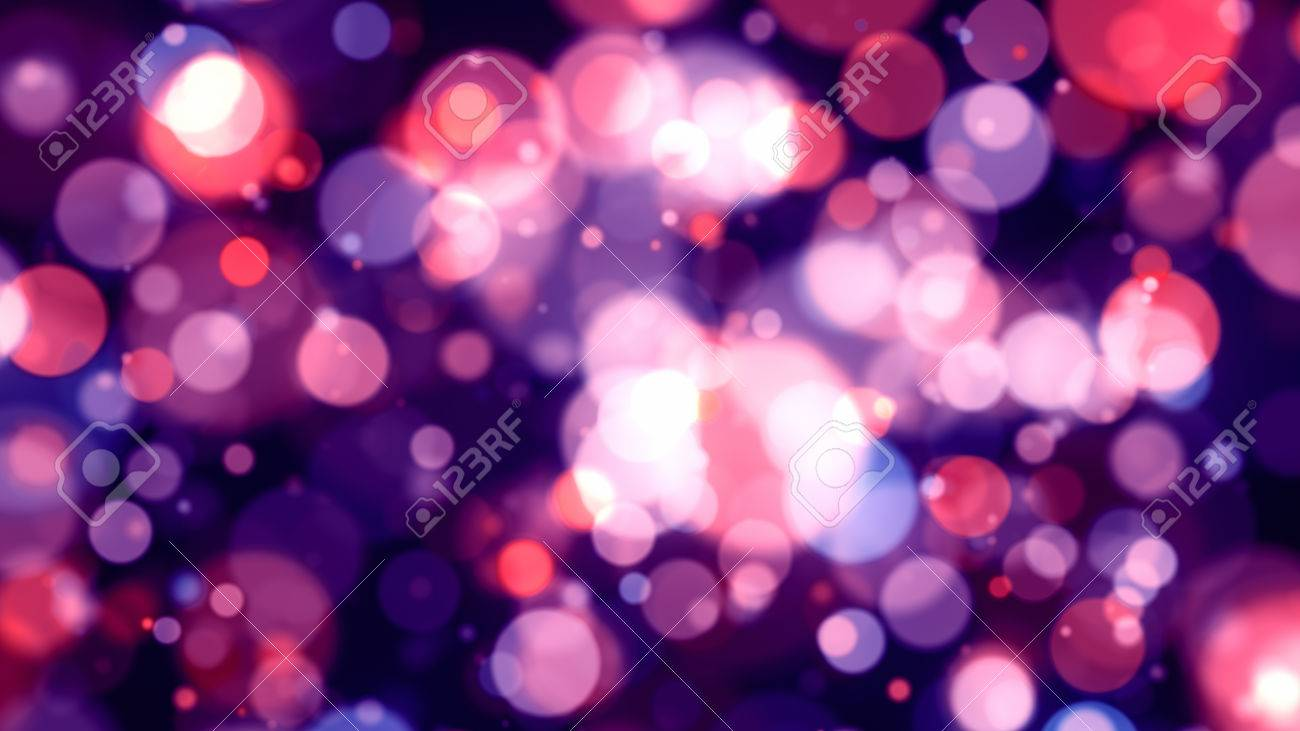 Abstract Background With Colorful Light Bokeh Particles 8k Ultra