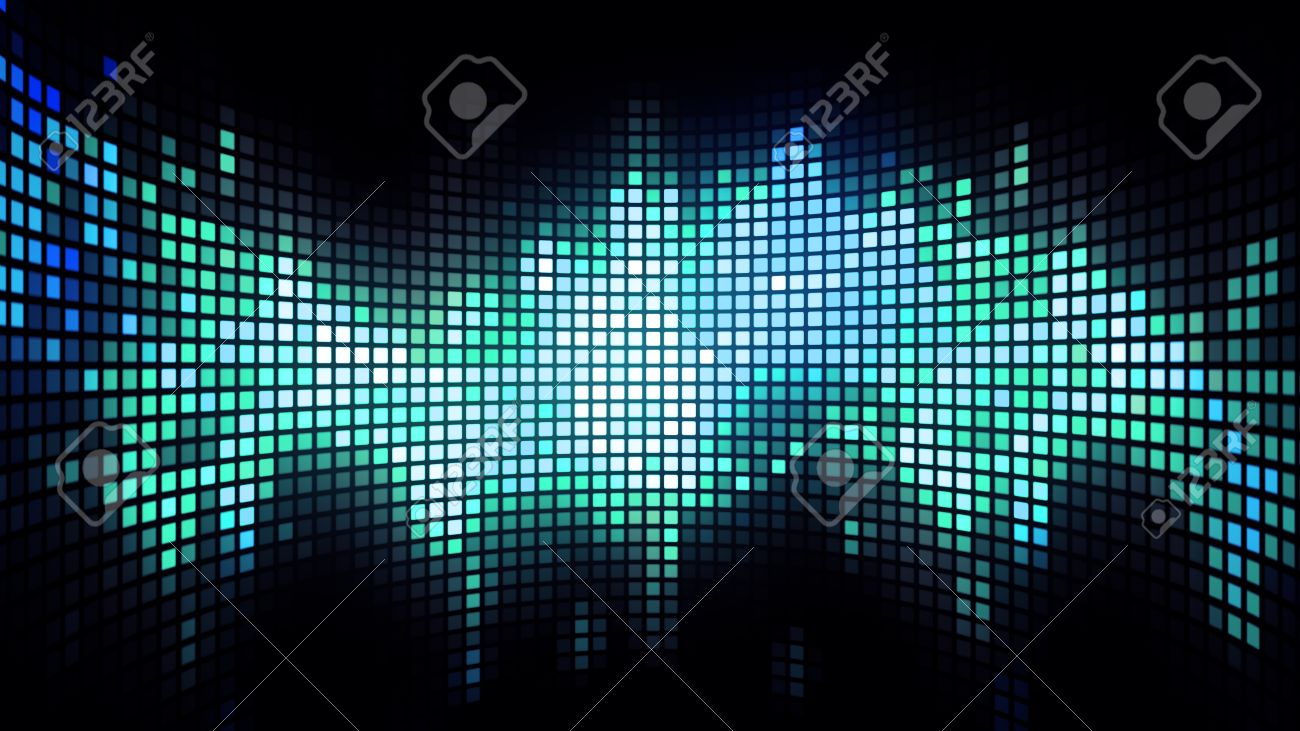 Abstract Colorful Led Screen Background For Party,holidays,fash ...