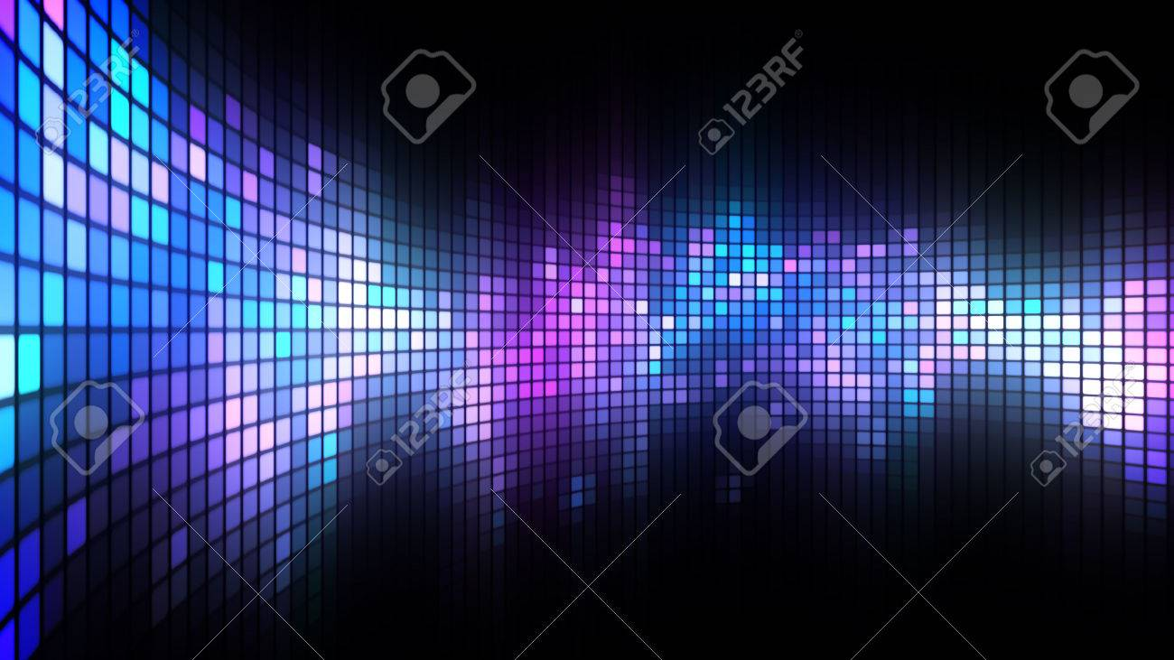 Led Screen Wallpaper Abstract Colorful Led Screen