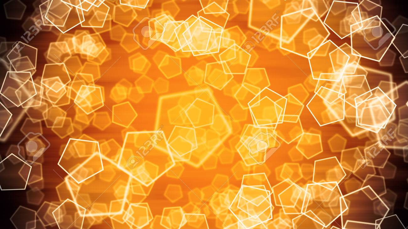 Background image 300 dpi - Bokeh Background With Glittering Shapes And Abstract Particles 8k Ultra Hd Resolution At 300dpi Stock