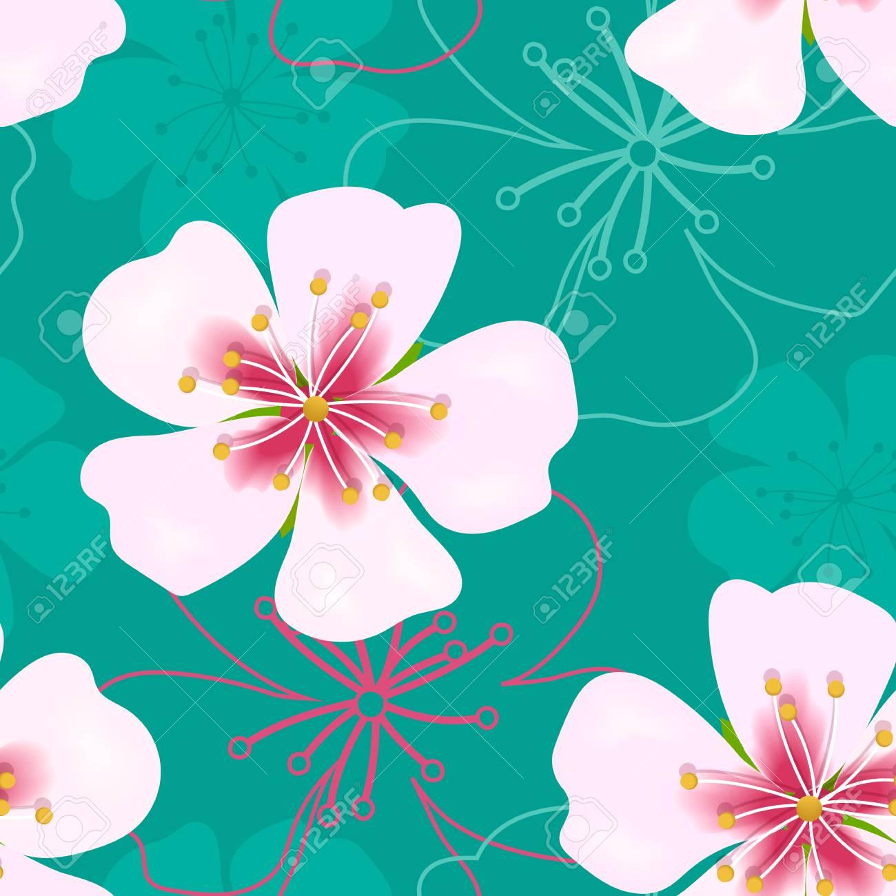 壁紙シンプルかわいいシームレス パターン のイラスト素材 ベクタ Image