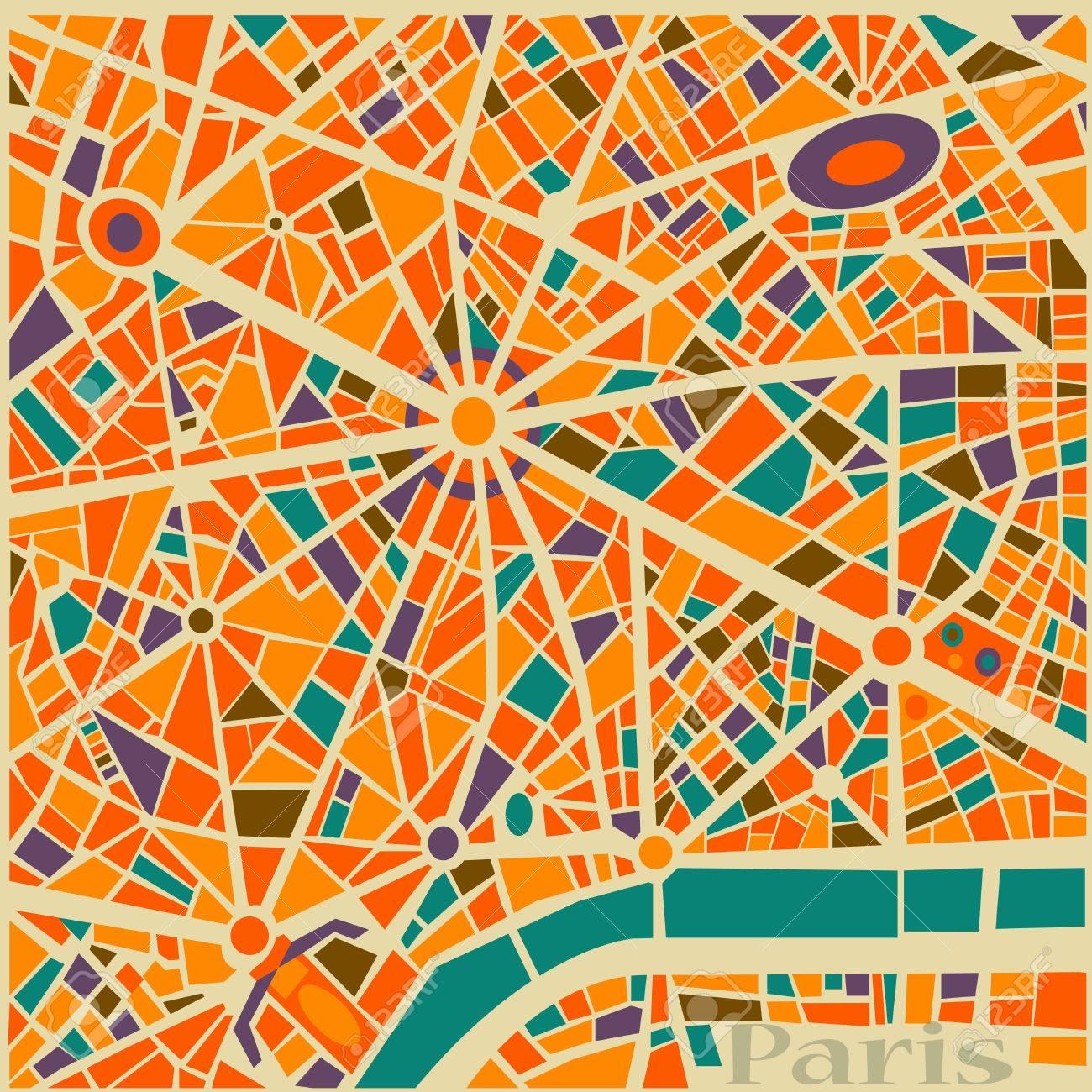Old paris street map royalty free stock photo image 15885665 - Jpg 1300x1300 Paris Map Background