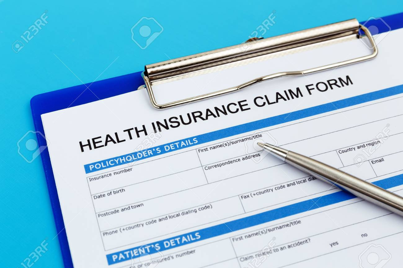 Health Insurance Claim Form With Pen Stock Photo Picture And Royalty Free Image Image 64575977