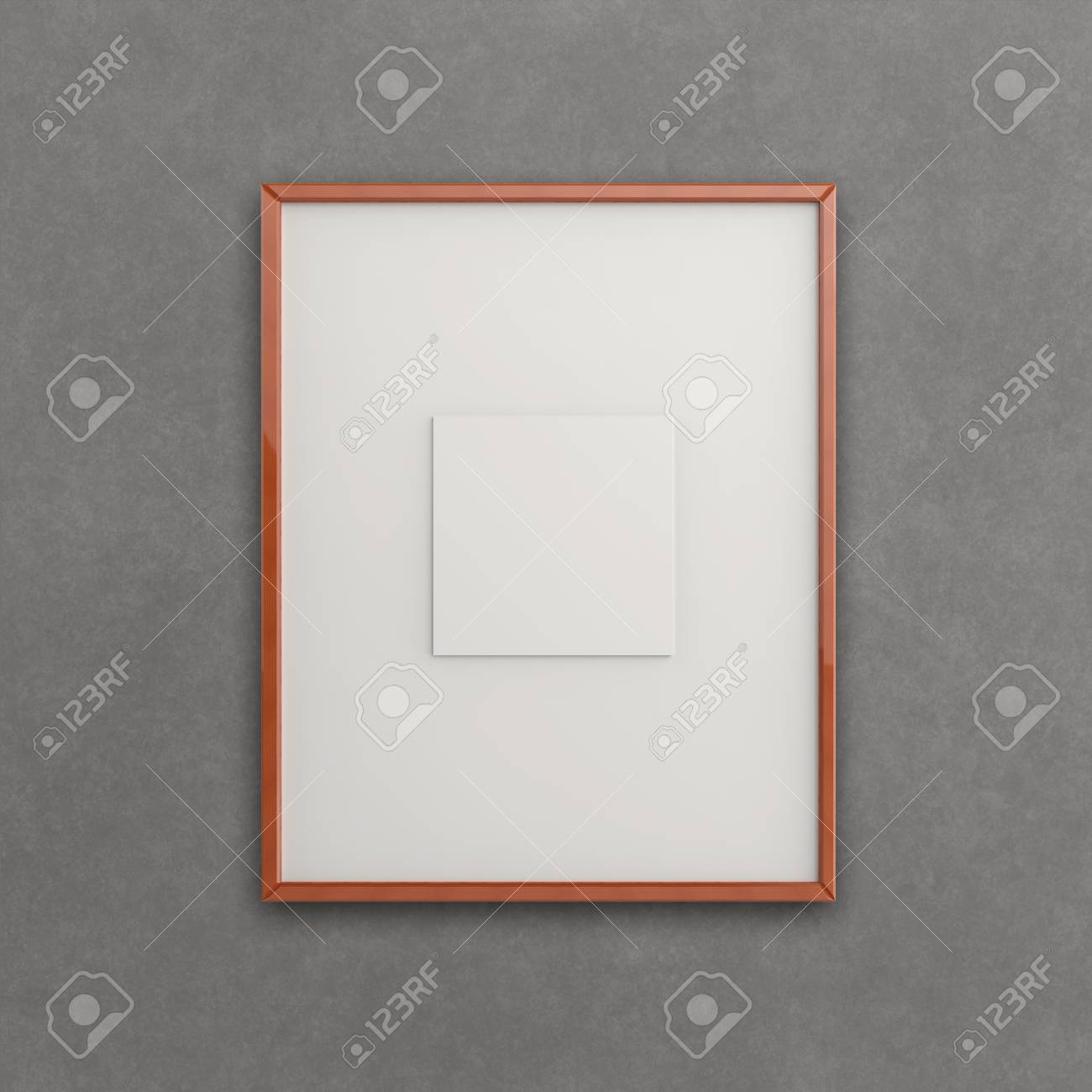 blank modern 3d frame on texture background as concept Stock Photo - 22393310