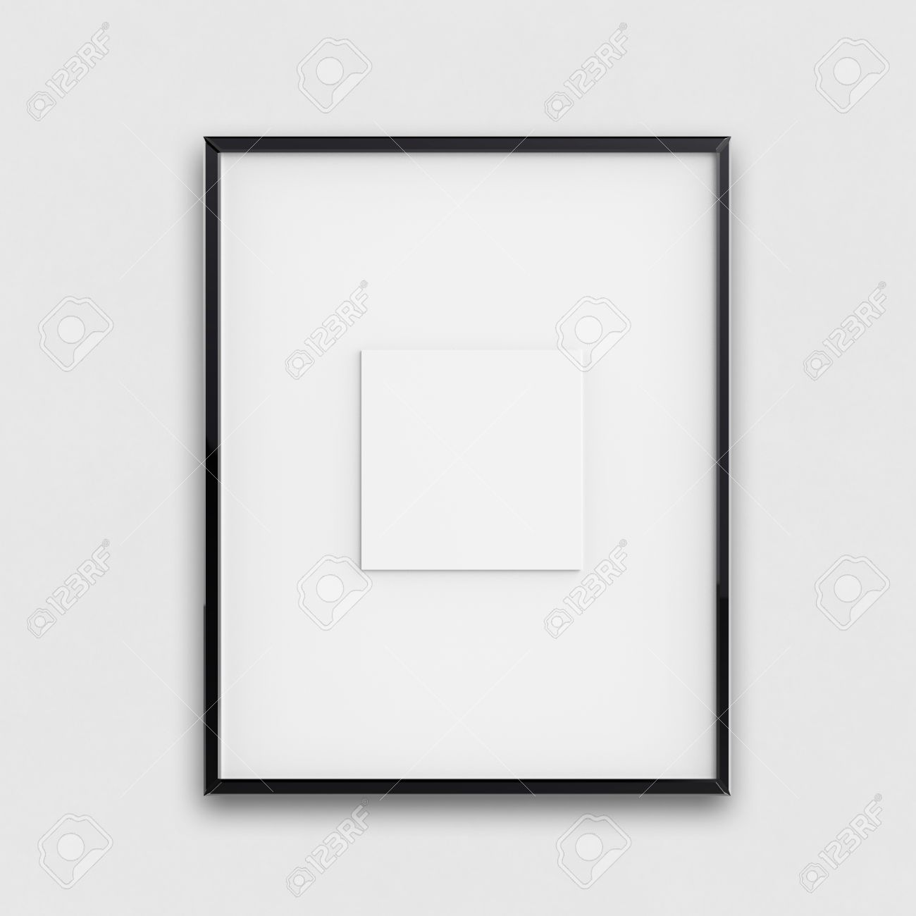 Blank Modern 3d Frame On Texture Background As Concept Stock Photo ...