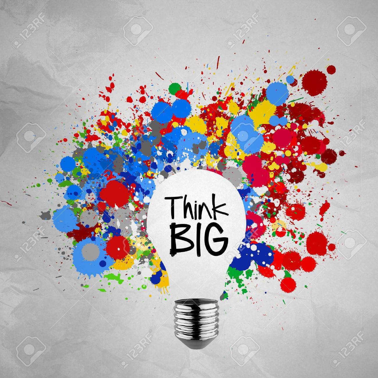 philosophy stock photos pictures royalty philosophy images philosophy think big word colorful splash colors lightbulb crumpled paper background as concept stock