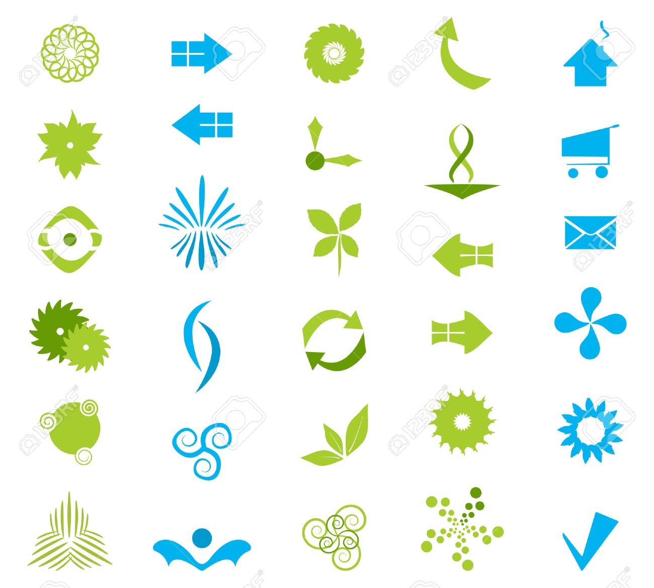 Vector Company Icons Set Stock Vector - 5030577