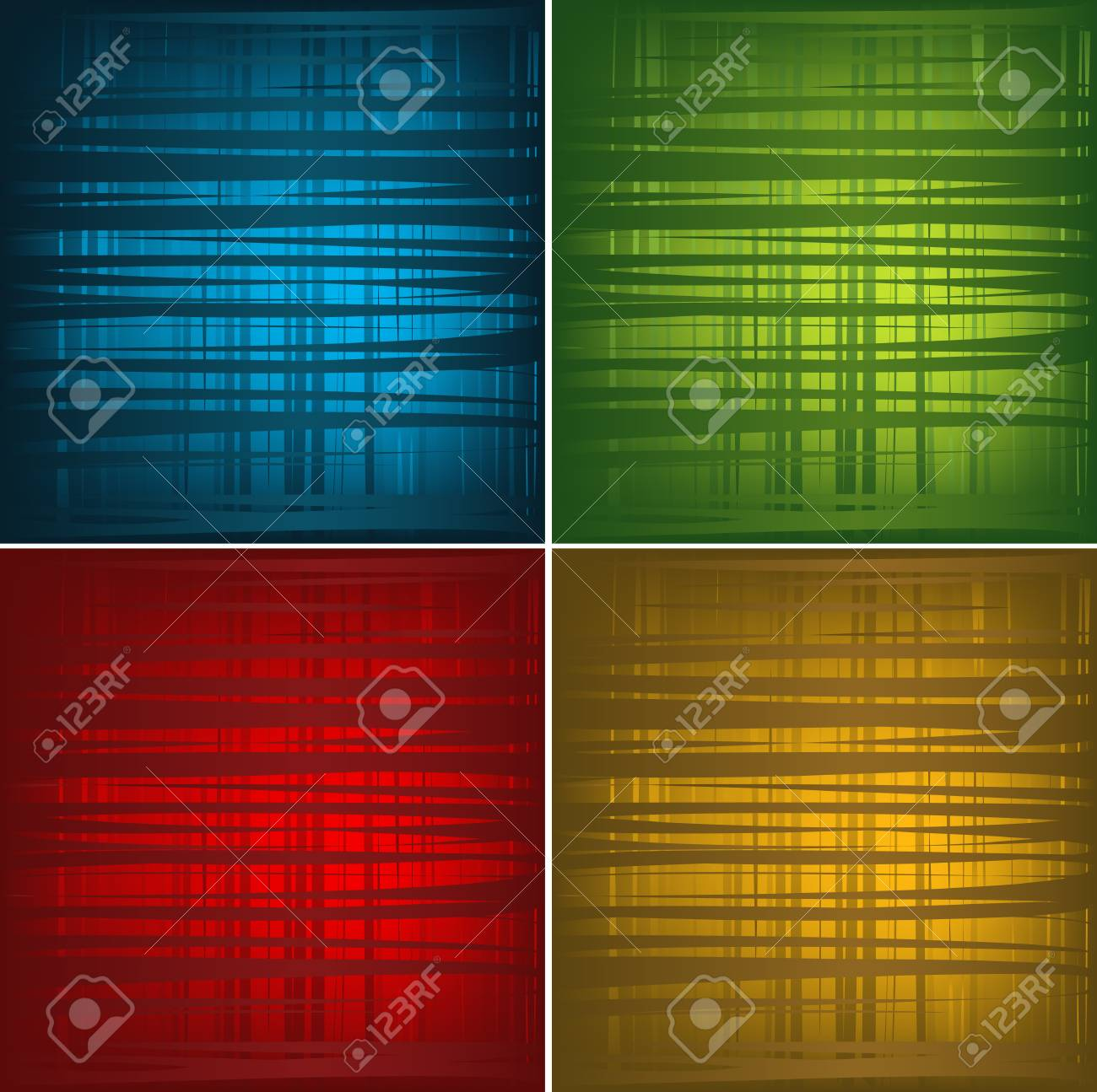 Abstract Festive Background Set Stock Vector - 5659375