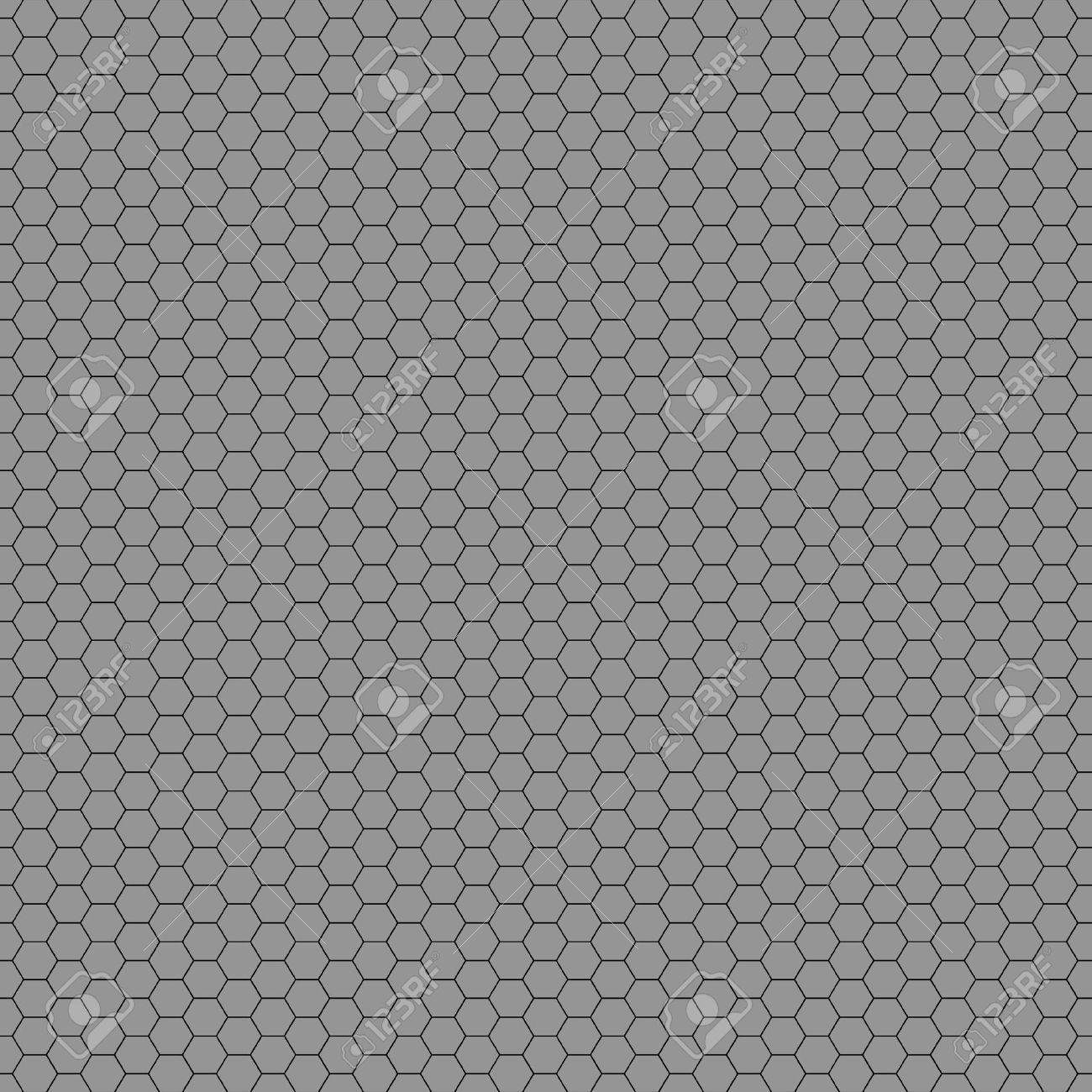 Seamless pattern with metal bars on a gray background - 12117434