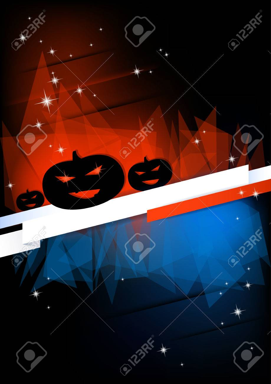 Vertical Halloween Party Background With Place For Text Royalty ...