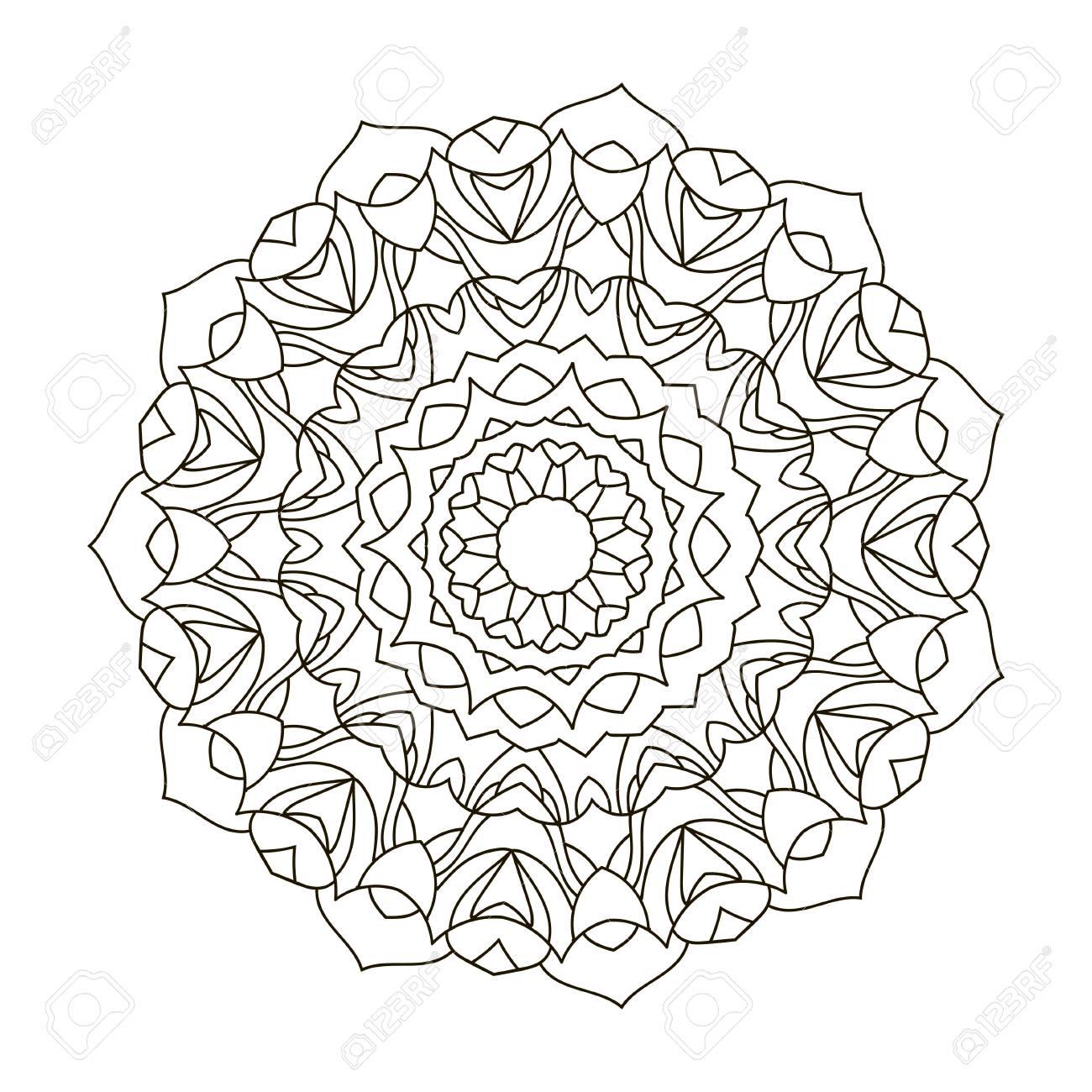 Ungewöhnlich Geometrische Kreis Malvorlagen Ideen - Entry Level ...