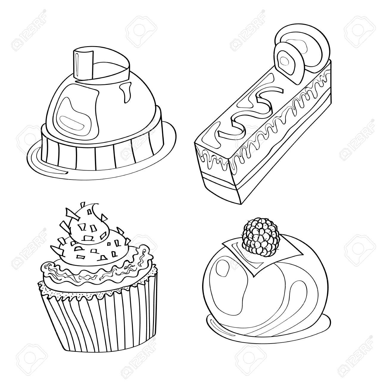 73+ Coloring Book Cake Best HD