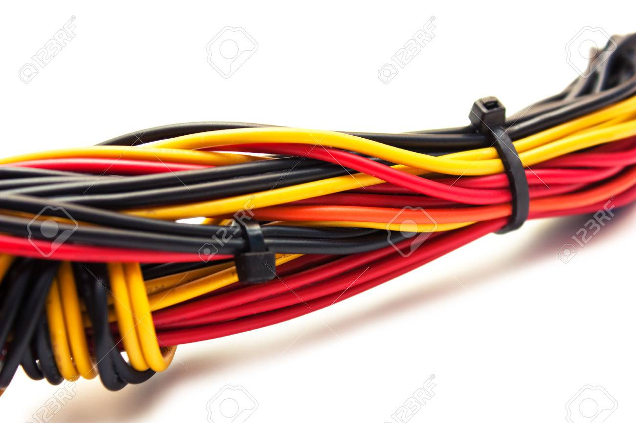 Computer Wire Harness Connectors Free Download Gmc Wiring Wireharness With Connector Macro Isolated Om White Stock Ford At