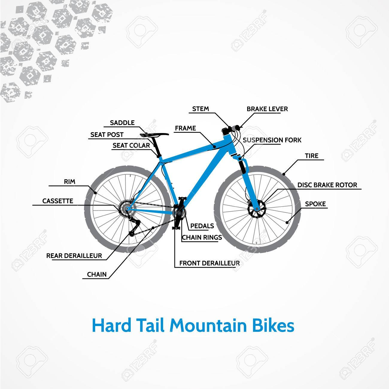 Mountain Bicycle Schematic - Trusted Wiring Diagram •