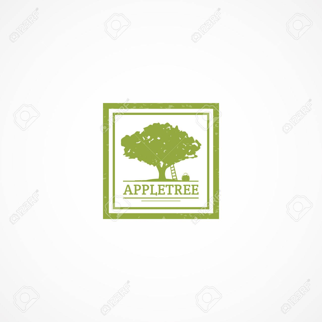 Apple Tree Logo Royalty Free Cliparts Vectors And Stock Illustration Image 71510764