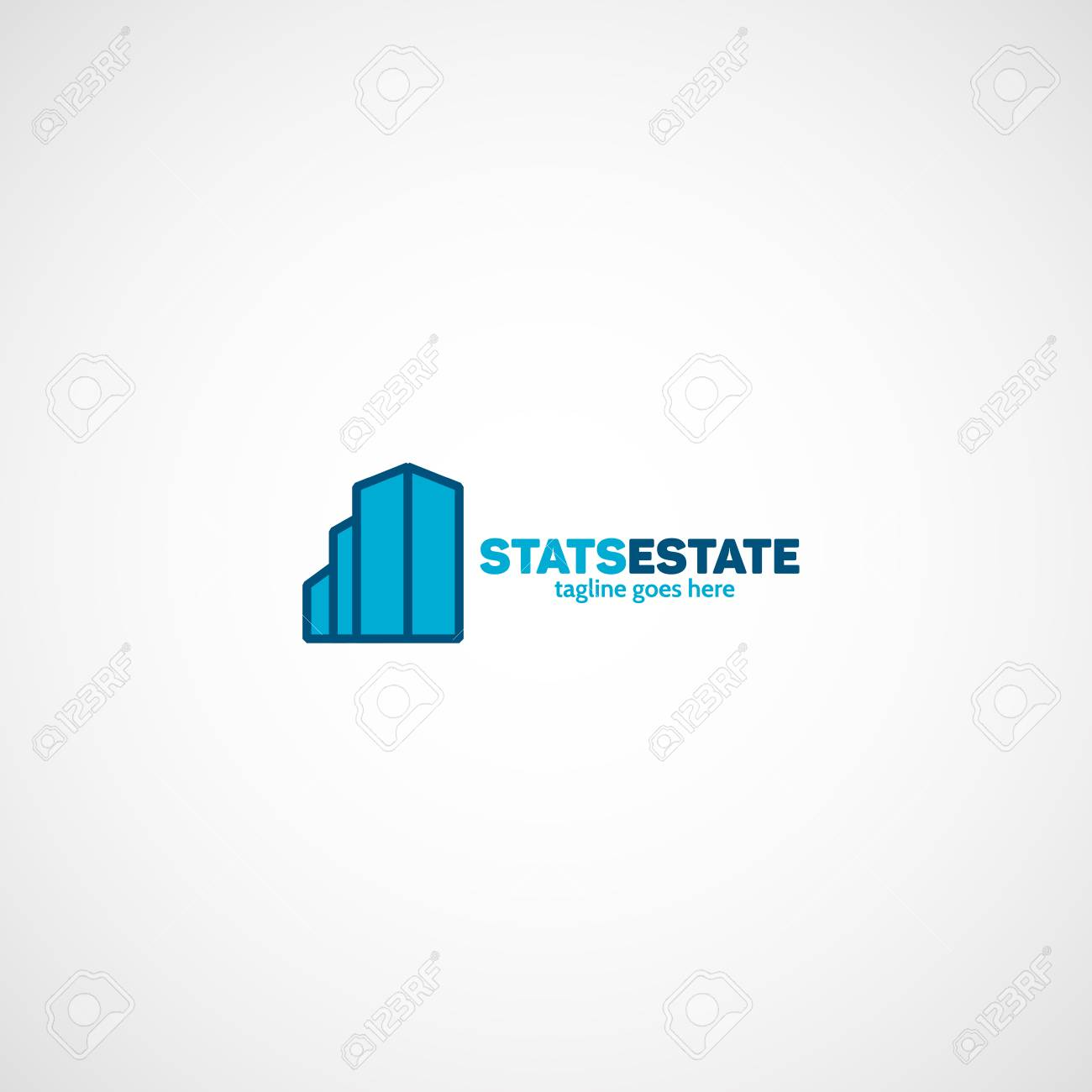 Stats Real Estate Logo Royalty Free Cliparts Vectors And Stock Illustration Image 81227623