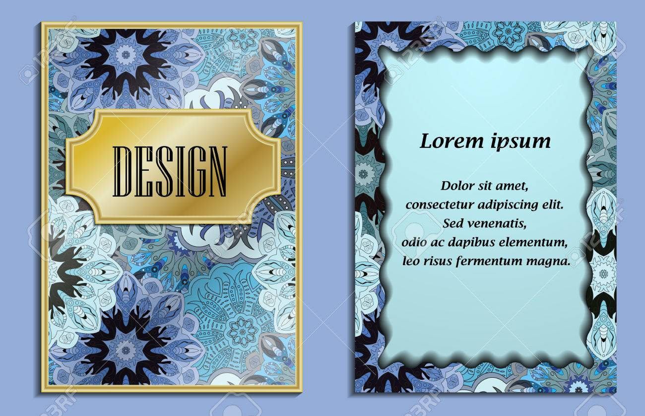Bright Elegant Design For Wedding Invitations, Birthday And Greeting ...