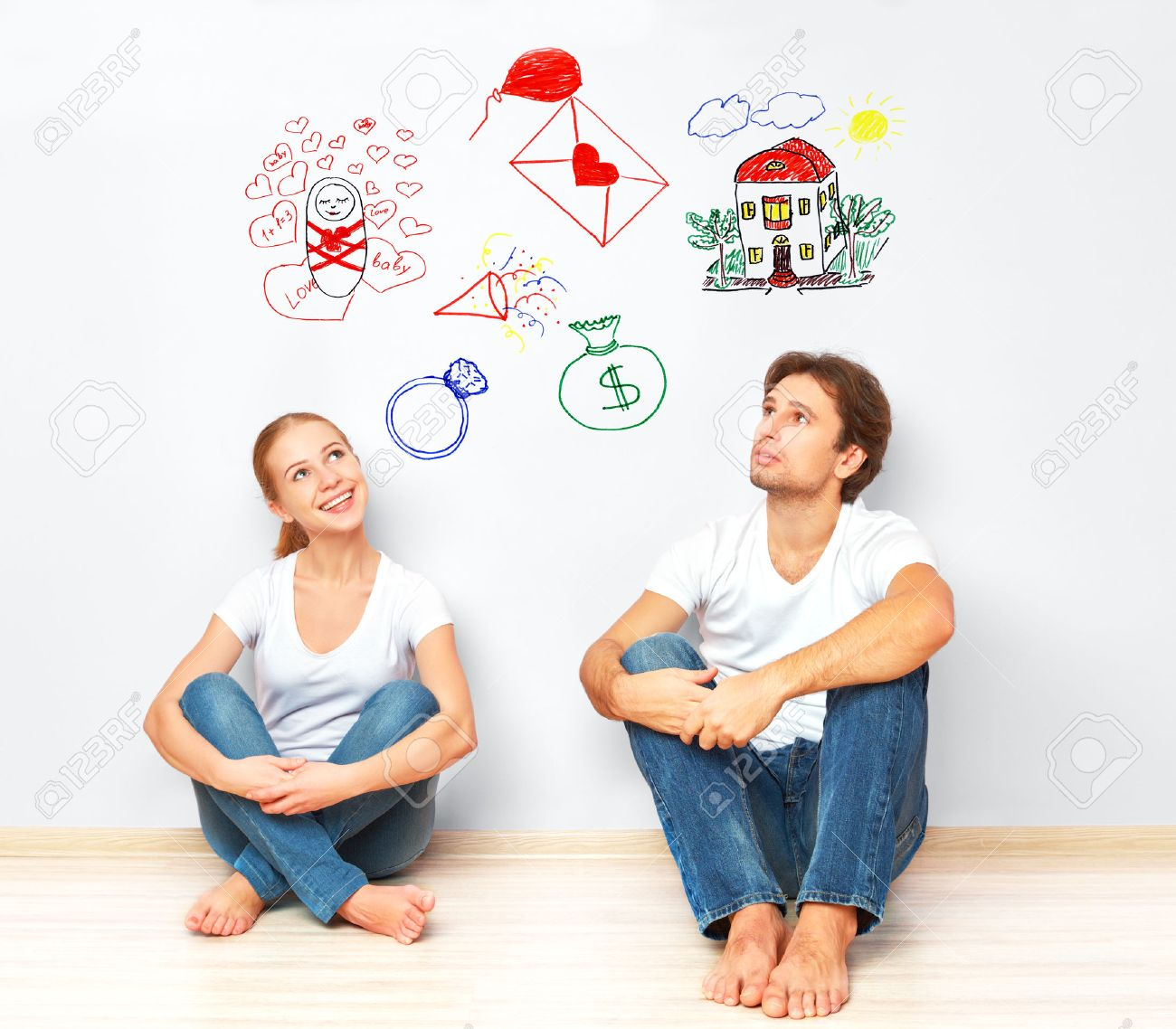 http://previews.123rf.com/images/evgenyatamanenko/evgenyatamanenko1501/evgenyatamanenko150100004/35114988-concept-young-happy-family-couple-dreaming-of-new-house-child-financial-well-being-Stock-Photo.jpg