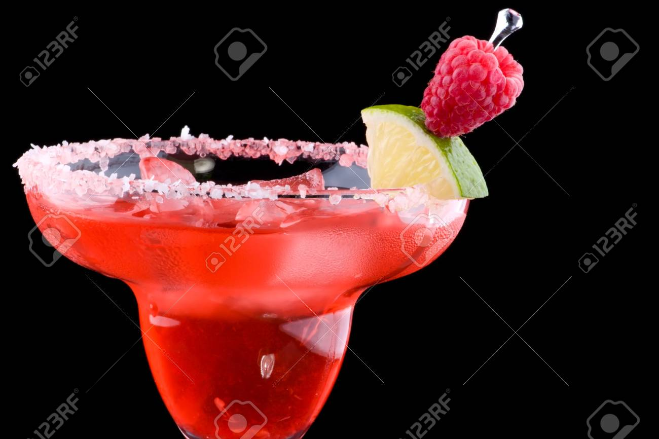 Various Beliebte Cocktails Reference Of Die Beliebtesten Serie. Raspberry Margarita In Gekühlten