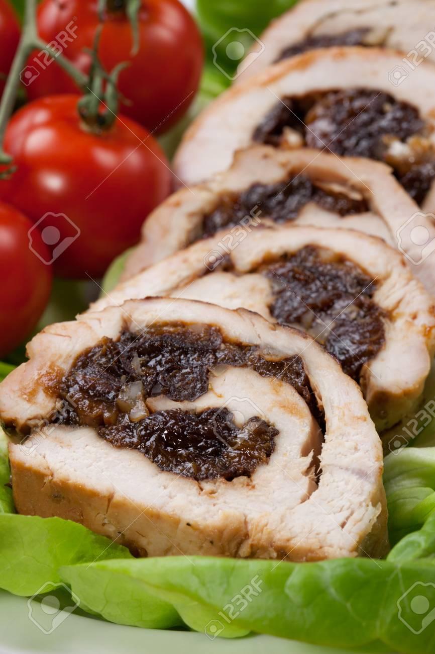 Turkey with prunes