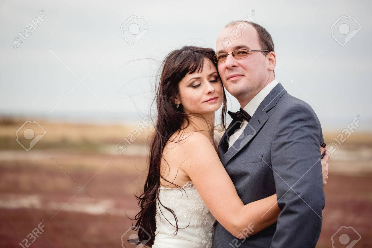Two Lovers Wedding Couple Husband Wife Love Nature Honeymoon Stock Photo Picture And Royalty Free Image Image 38616247