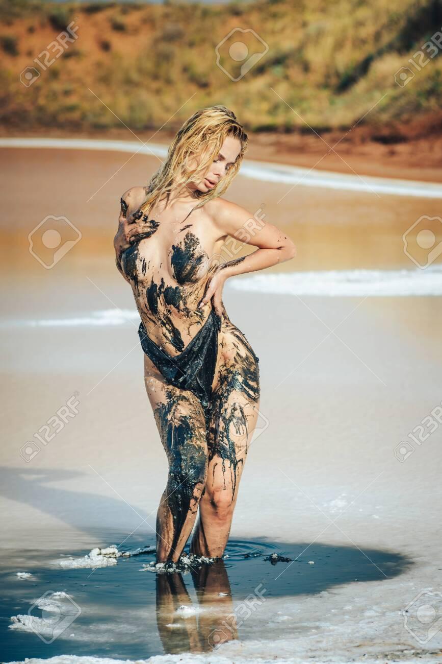Mud naked girls in Girls in