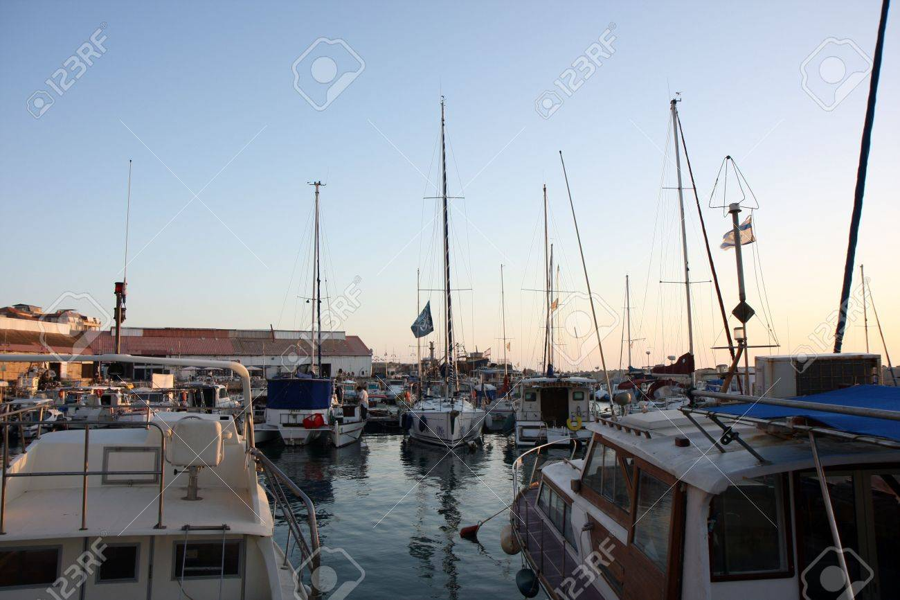 The old port of Jaffa city Stock Photo - 4673924