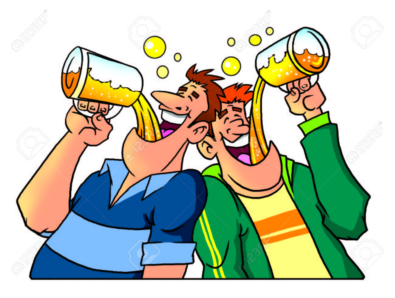 Image result for beer drinking cartoon pictures