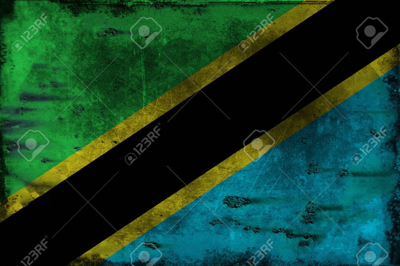The flag of Tanzania consists of a yellow-edged black diagonal